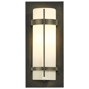 Banded Aluminum Outdoor LED Wall Sconce