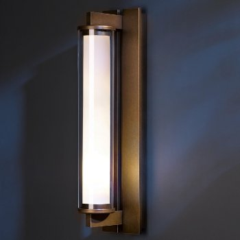Fuse Outdoor Wall Sconce (Bronze/Large) - OPEN BOX RETURN