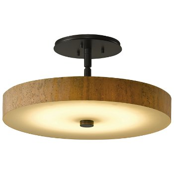 Disq LED Semi-Flushmount