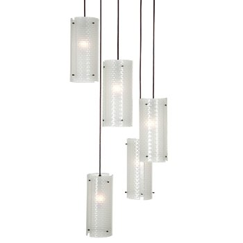 Lattice Round Multi-Light Pendant
