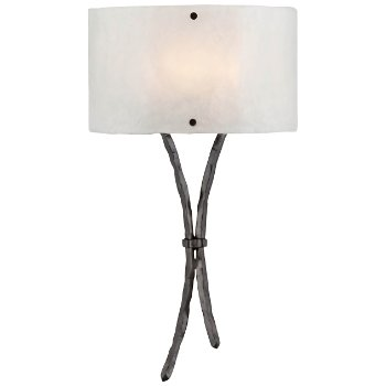 Ironwood Sprout Glass Wall Sconce