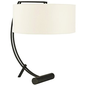 Deyo Table Lamp (White/Old Bronze) - OPEN BOX RETURN