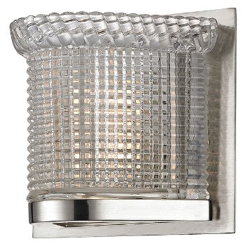 Denning Wall Sconce (Polished Nickel) - OPEN BOX RETURN