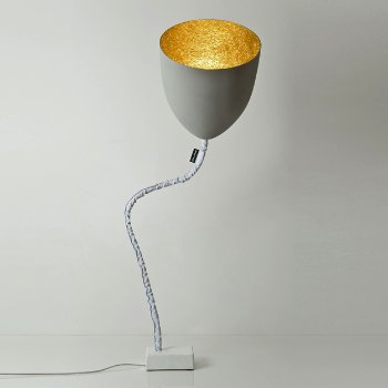 Flower Cemento Floor Lamp