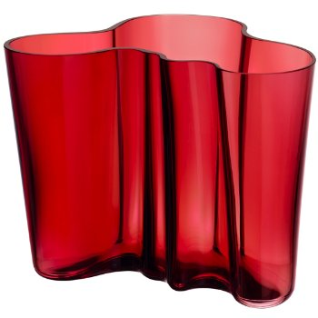 Aalto Vase - Cranberry