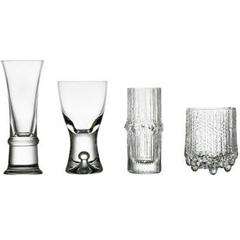 Wirkkala Decades Cordial Set of 4 Glasses