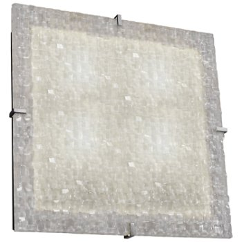 3form Clips 24 Inch Square Ceiling/Wall Light