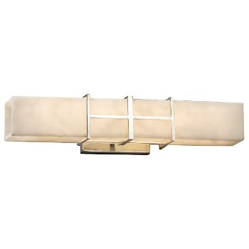 Clouds Structure Linear LED Bath Bar