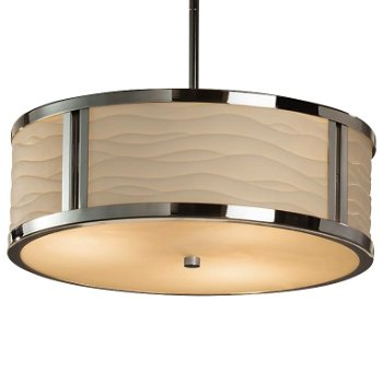 Porcelina Tribeca Drum Pendant