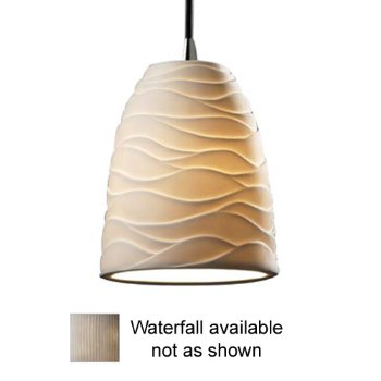 Limoges Mini Tapered Pendant (Waterfall/Bronze) - OPEN BOX