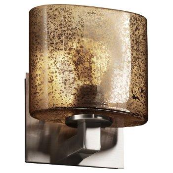 Fusion Mercury Glass Modular Wall Sconce (Nickel) - OPEN BOX