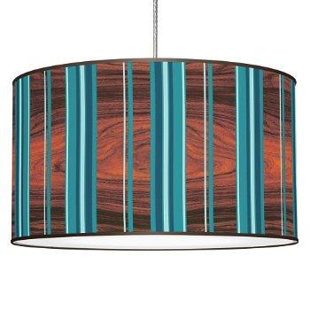 Stripey Vertical Pendant