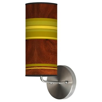 Stripey Horizontal Wall Sconce
