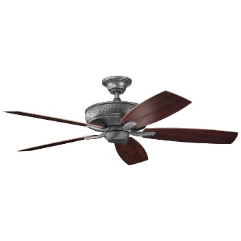 Monarch II Patio Outdoor Ceiling Fan (Steel) - OPEN BOX