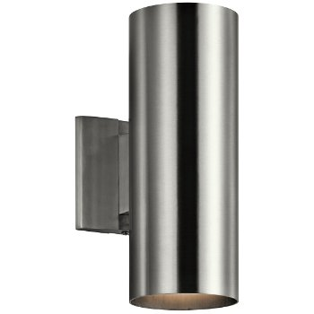 Outdoor up down cylinder wall sconce by kichler at - Cylindrical wall sconce ...