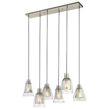 Evie 6-Light Linear Chandelier