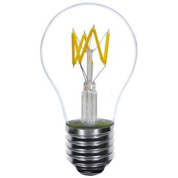 4W 120V A19 E26 Zig Zag LED Filament