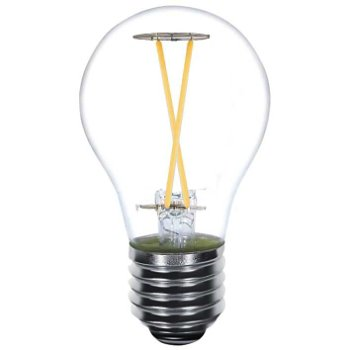 2.5W 120V A21 E26 LED Long Filament Clear