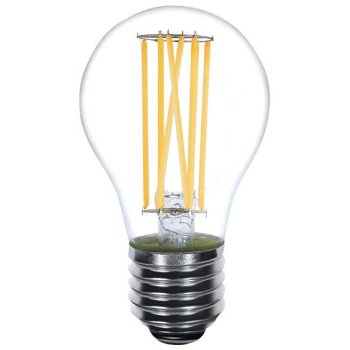 5W 120V A21 E26 LED Long Filament Clear