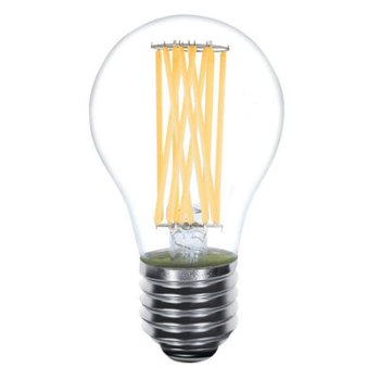 12.5W 120V A21 E26 LED Long Filament Clear