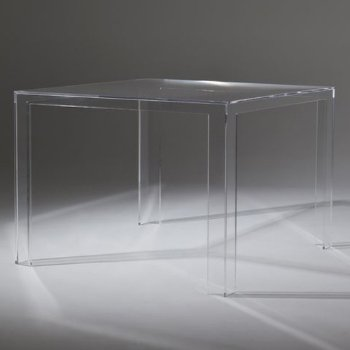 Invisible Table (Crystal) - OPEN BOX RETURN