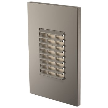 Louver LED Vertical Step Light