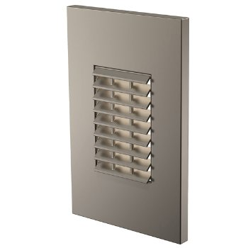 Louver Vertical LED Step Light