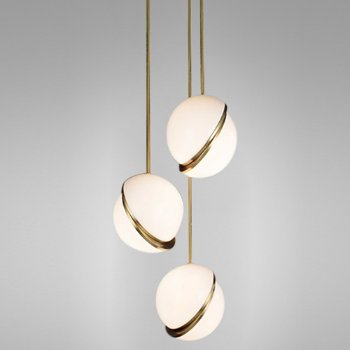 Crescent Mini Multi-Light Pendant
