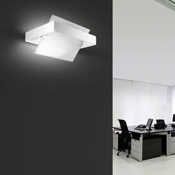 Ala Wall Lamp (Transparent/White) - OPEN BOX RETURN