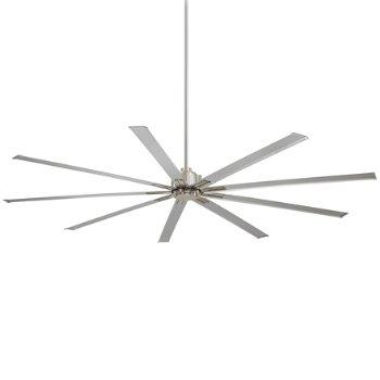 Xtreme Ceiling Fan (Nickel/Silver/72 Inch) - OPEN BOX RETURN