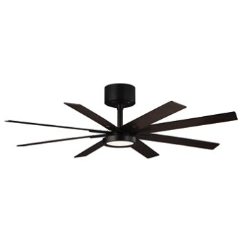 Empire Ceiling Fan (Matte Black) - OPEN BOX RETURN