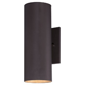 Skyline Outdoor Wall Sconce (Bronze/Large) - OPEN BOX RETURN