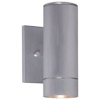 Skyline LED Outdoor Wall Sconce (Aluminum/Small) - OPEN BOX