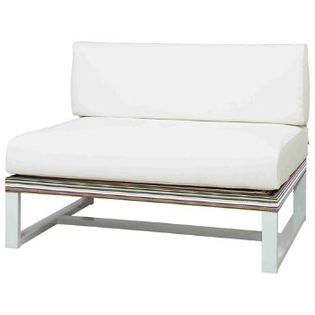 Stripe Armless Sectional Seat