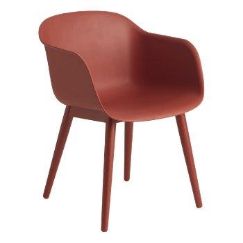 Fiber Chair - Wood Base