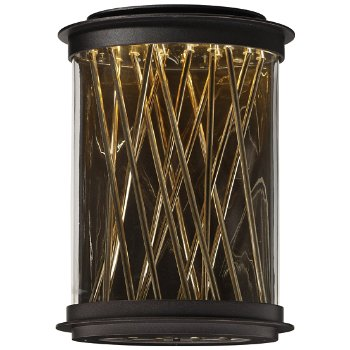 Bedazzle Outdoor LED Tall Wall Sconce