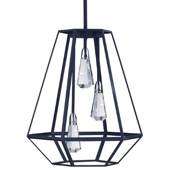 Silhouette LED 3-Light Pendant