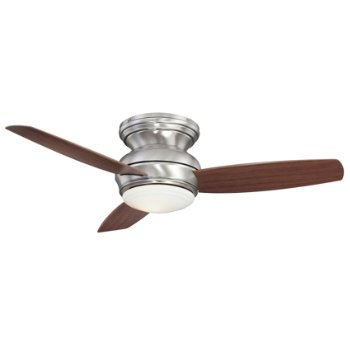 "Concept Flush Ceiling Fan (Pewter/44"") - OPEN BOX RETURN"