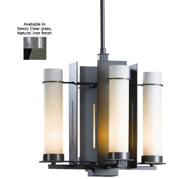 New Town Four Light Chandelier with Glass Options - OPEN BOX RETURN