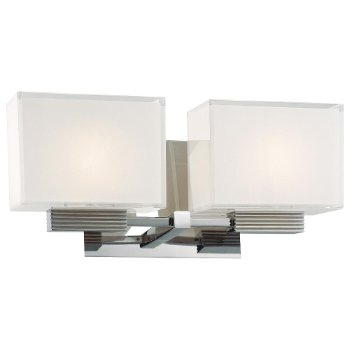 Cubism Bath Bar (2 Lights) - OPEN BOX RETURN
