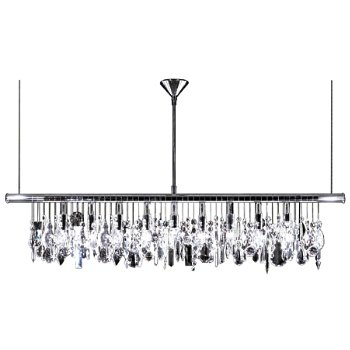 Broadway Black Tie Linear Suspension