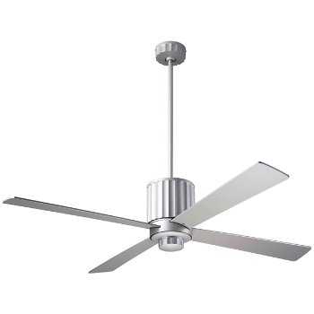 Flute Ceiling Fan with Optional Light