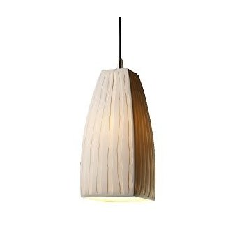 Limoges Tapered Square Pendant