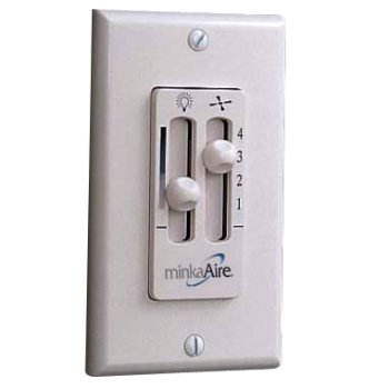 Wall Mount Wired Fan & Light Control WC106