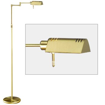 Slide Line Dimmer Floor Lamp