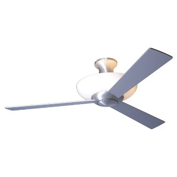 Aurora Flushmount Ceiling Fan with Light