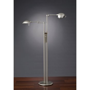 Twin Light Floor Lamp