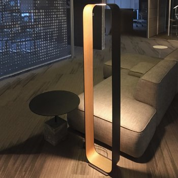 contour led floor lamp by pablo designs at