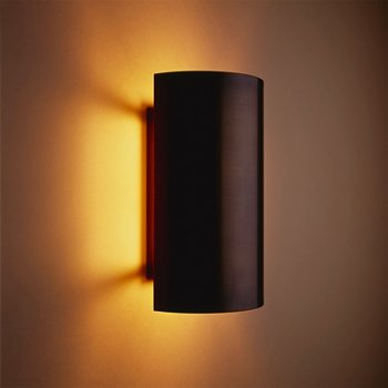 Half Cylinder Wall Sconce