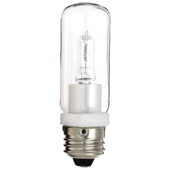 250W 120V T10 E26 Halogen Clear Bulb 2-Pack